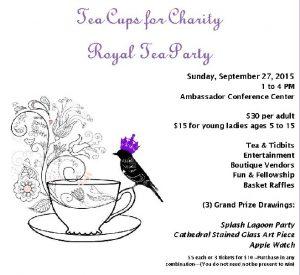 Tea Cupsfor Charity