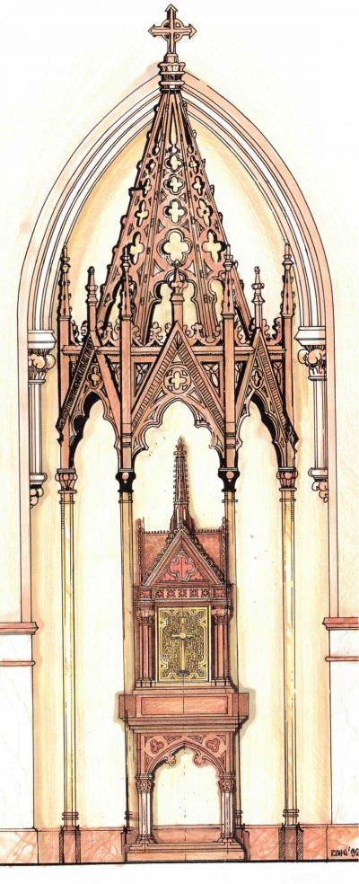 baldachin and tabernacle