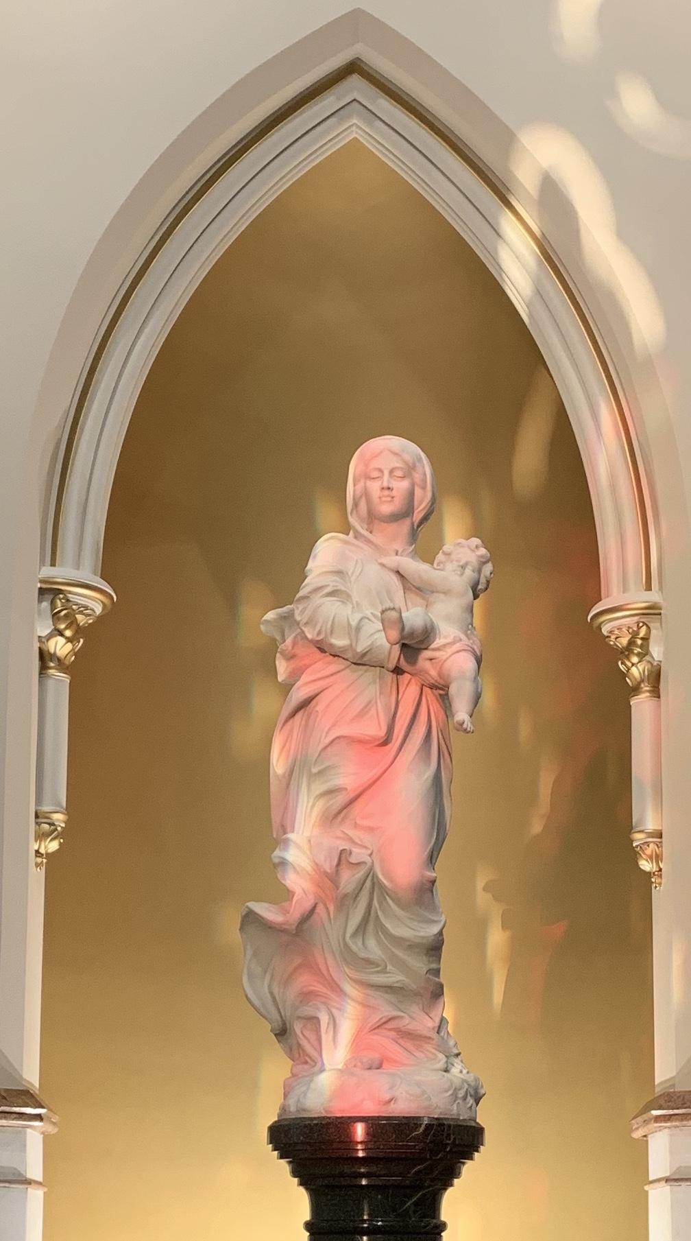 blessed mother shrine